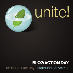 Bloggers Unite - Blog Action Day